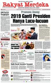 Cover Rakyat Merdeka 07 Juni 2018