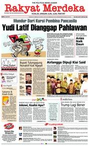 Cover Rakyat Merdeka 09 Juni 2018