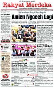 Cover Rakyat Merdeka 10 Juni 2018