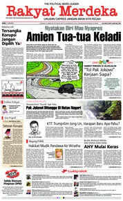 Cover Rakyat Merdeka 11 Juni 2018