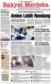 Cover Rakyat Merdeka 12 Juni 2018