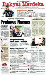 Cover Rakyat Merdeka 21 Juni 2018