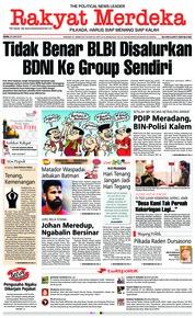 Cover Rakyat Merdeka 25 Juni 2018