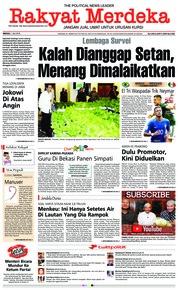 Cover Rakyat Merdeka 01 Juli 2018