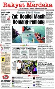 Cover Rakyat Merdeka 04 Juli 2018