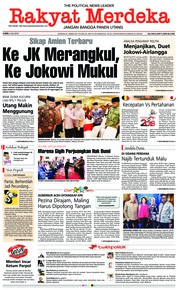 Cover Rakyat Merdeka 05 Juli 2018