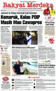 Cover Rakyat Merdeka 07 Juli 2018