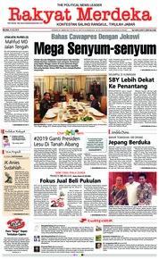 Cover Rakyat Merdeka 10 Juli 2018