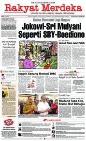 Cover Rakyat Merdeka 11 Juli 2018