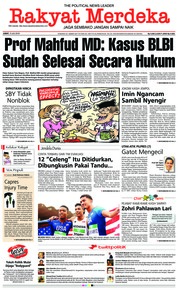 Rakyat Merdeka Cover 13 July 2018