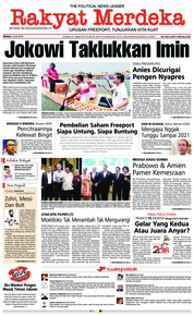 Rakyat Merdeka Cover 15 July 2018