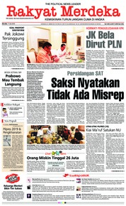 Rakyat Merdeka Cover 17 July 2018
