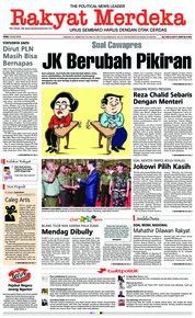 Rakyat Merdeka Cover 18 July 2018