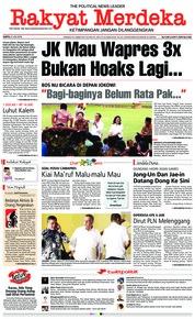 Cover Rakyat Merdeka 21 Juli 2018