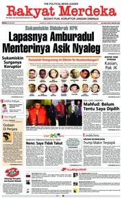 Cover Rakyat Merdeka 22 Juli 2018