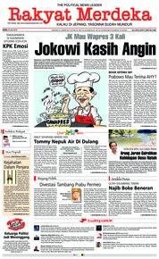 Cover Rakyat Merdeka 23 Juli 2018