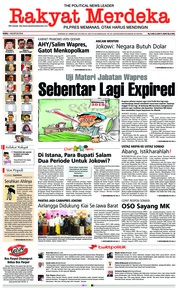 Rakyat Merdeka Cover 01 August 2018