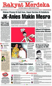 Rakyat Merdeka Cover 04 August 2018