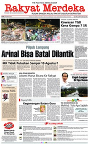 Rakyat Merdeka Cover 06 August 2018