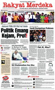 Rakyat Merdeka Cover 10 August 2018
