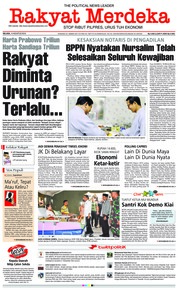 Rakyat Merdeka Cover 14 August 2018