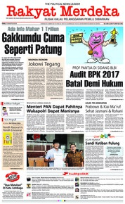 Rakyat Merdeka Cover 15 August 2018
