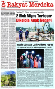 Rakyat Merdeka Cover 18 August 2018