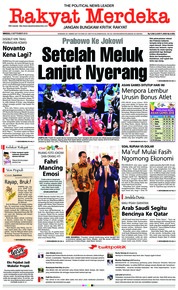 Cover Rakyat Merdeka 02 September 2018
