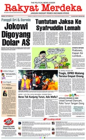 Cover Rakyat Merdeka 04 September 2018