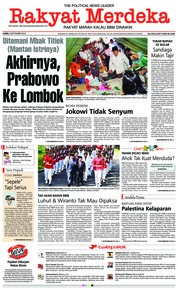 Cover Rakyat Merdeka 06 September 2018