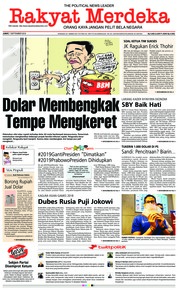 Cover Rakyat Merdeka 07 September 2018