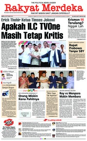 Cover Rakyat Merdeka 08 September 2018