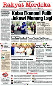 Cover Rakyat Merdeka 09 September 2018