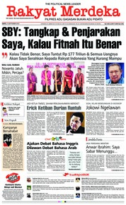 Cover Rakyat Merdeka 15 September 2018