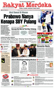 Cover Rakyat Merdeka 24 September 2018
