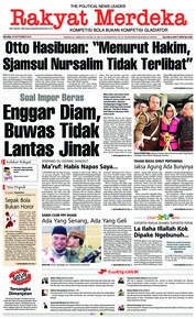 Cover Rakyat Merdeka 25 September 2018