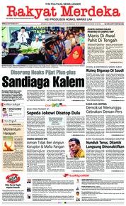 Cover Rakyat Merdeka 26 September 2018