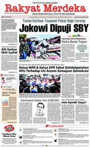 Rakyat Merdeka Cover 01 October 2018