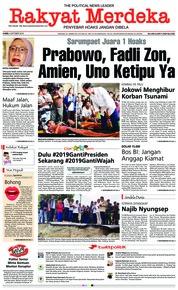 Rakyat Merdeka Cover 04 October 2018
