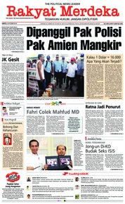 Rakyat Merdeka Cover 06 October 2018