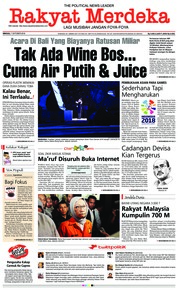 Rakyat Merdeka Cover 07 October 2018
