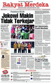 Rakyat Merdeka Cover 08 October 2018