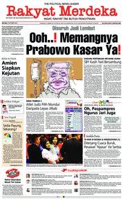 Rakyat Merdeka Cover 09 October 2018