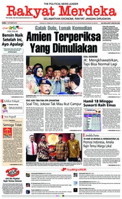 Cover Rakyat Merdeka 11 Oktober 2018