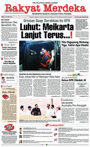 Cover Rakyat Merdeka 17 Oktober 2018