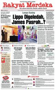 Cover Rakyat Merdeka 18 Oktober 2018