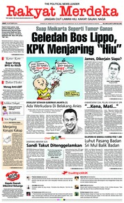 Cover Rakyat Merdeka 19 Oktober 2018