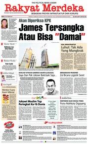 Cover Rakyat Merdeka 20 Oktober 2018