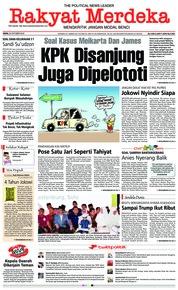 Cover Rakyat Merdeka 22 Oktober 2018