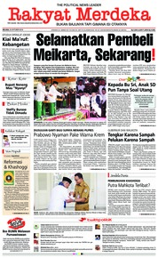 Cover Rakyat Merdeka 23 Oktober 2018
